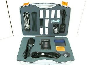 Carefusion Micro Loop Handheld Spirometer W Hard Case Accessories Free Ship