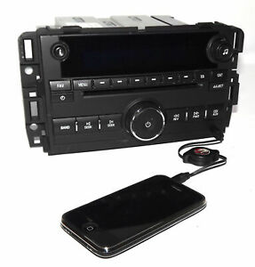 Chevy Gmc Truck Radio 2009 2012 Am Fm Mp3 Cd W Auxiliary Input 20935116 Unlocked