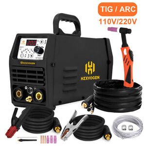 110v 220v Tig Welder Pulse 200a Arc Dc Stick Mma Inverter Igbt Welding Machine
