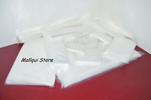 24 Clear 20 X 24 Uline 2 Mil Thick Poly Bags Lay Flat Open Top Plastic Packing