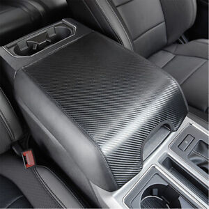 Center Console Armrest Cover Leather Pad For Ford F150 2015 2020 Protector