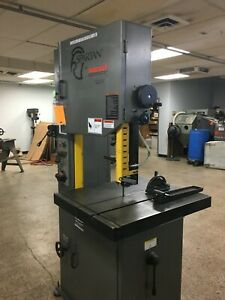 20 Marvel Spartan Vertical Band Saw Model S20v