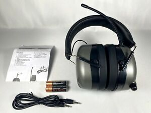 Safety Works Hearing Protector Muffs Digital Radio Mp3 am fm Protection 10121816