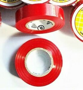 2 Rolls 60 Ft General 3 4 X 60 Vinyl Pvc Red Insulated Electrical Tape