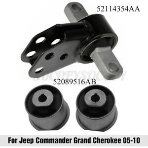 Front Differential Mount Axle Bushings For Jeep Commander Grand Cherokee 2005 10