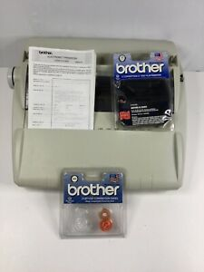 Brother Ml 100 Standard Electric Typewriter 1030 Film Ribbon Correction Tape