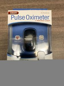 Ichoice Smart Pulse Oximeter Relaxation Coach New In Box