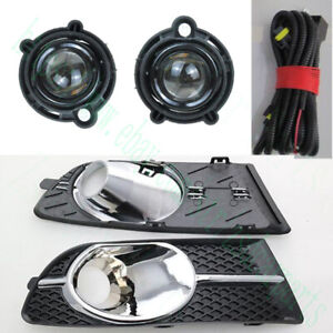 1set For Buick Verano Excelle Gt 2012 15 Lh Rh Fog Light Covers With Bulb Wiring