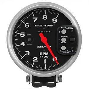 Autometer 3966 Sport comp Playback Tachometer