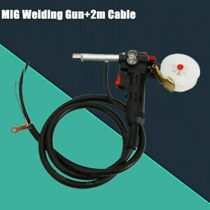 Mig Welder Spool Gun Push Pull Feeder Aluminum Welding Torch W 2m Wire Cable