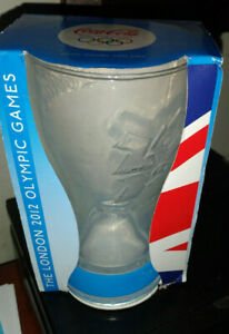 Coca Cola The London 2012 Olympic Games Collectible Glass - New