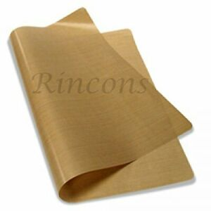 Reusable Teflon Sheet Non Stick Heat Press Craft Sublimation 5 Mils Thick 15x15