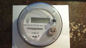 Centron Itron Electric Meter Model Cl320 240v 3w Type C2sl Preowned Tested