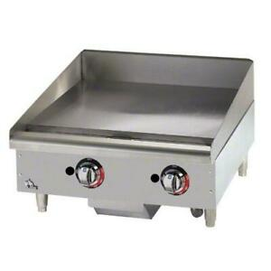 Star 624tf Star max 24 In Thermostatic Control Gas Griddle