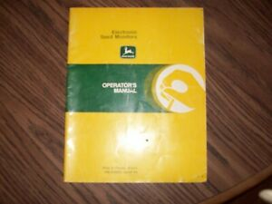 John Deere Manuals All Sold As One Lot