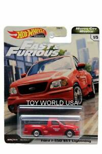 2020 Hot Wheels Fast amp; Furious Motor City Muscle #1 Ford F 150 SVT Lightning $9.99