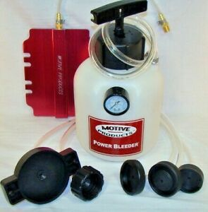 Motive Power Brake Bleeder Kit 2qt Capacity Thread On Xlt Universal Kit 0260