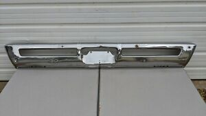 1969 C Body Plymouth Fury Iii Chrome Front Bumper