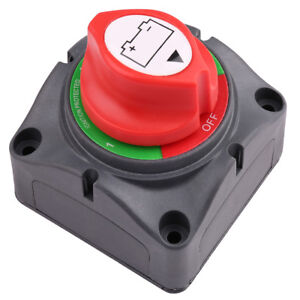 Dc12 60v Dual Battery Disconnect Switch Isolator Selector Marine Boat Car Rv Atv