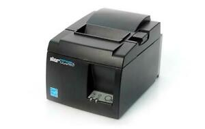 Star Tsp100 Tsp143iiil Futureprnt Lan Receipt Printer Gray Black New