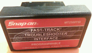 Snap On Mt2500tsi Fast track Tsi Programmable Cartridge To 2003 Mt2500 Scanner