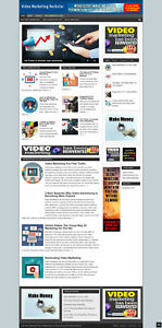 Video Marketing Website With Affiliates Hosting New Domain