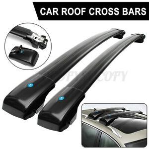 Car Top Roof Rack Cross Luggage Bar With Key Lock For Jeep Cherokee 2014 2019 Us