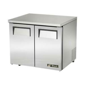 True Tuc 36 lp hc 36 In 2 Door Low Profile Undercounter Refrigerator