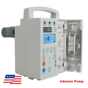 Hospital Infusion Pump Iv Fluid Pump Equipment And Audible And Visual Alarm