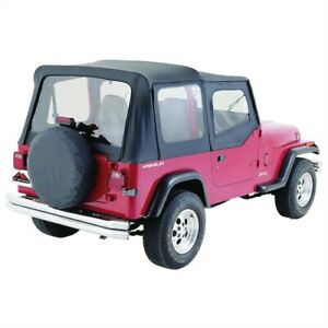 Crown Automotive Ct20015 Complete Soft Top 1987 1995 Jeep Wrangler Yj W Soft Up