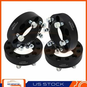 4 1 5 Thick 6lug 6x5 5 12x1 5 Wheel Spacers 1990 2015 For Toyota 4runner