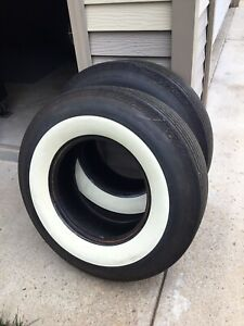 Classic White Wall Tires Hot Rod Gasser Vintage Tires