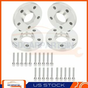 4 20mm Hub Centric Wheel Spacers Adapters 5x112 For Mercedes benz C300 C350