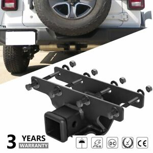 2inch Receiver Towing Trailer Hitch Cover For 2018 2020 Jeep Wrangler