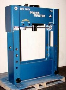 New 100 Ton H frame Hydraulic Press W all The Options
