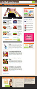 Organic Foods For Health Website With Affiliate Options New Domain