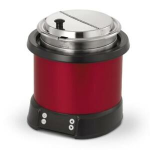 Vollrath 7470140 7 Qt Red Induction Rethermalizer