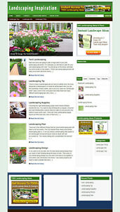 Landscape Gardeners Website With Hosting And New Domain