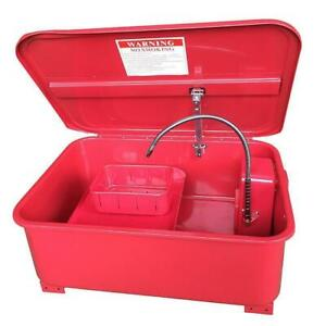20 Gallon Automotive Parts Electric Solvent Pump Washer Cleaner Tool Us Shipping