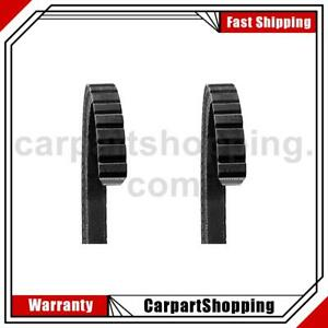 2 Dayco Accessory Drive Belt Supercharger For Studebaker Avanti
