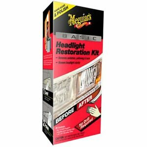 Meguiar s G2960 Basic Headlight Restoration Kit