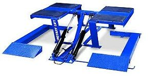 New Rotary Vlxs10 10 000 Lb Low Rise Scissor Auto Lift