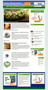 Jewelry Making Blog Website Affiliate Options And New Domain Hosting