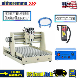 Cnc 3axis 3040t Router Engraver Usb 3d Cutting Drilling Machine 400w controller