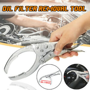 Adjustable Oil Filter Wrench Pliers Remover 50 110mm Auto Car Removal Tool Set