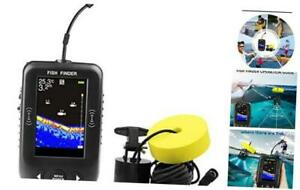 RICANK Handheld Fish Finder  Contour Readout Portable Fishfinder Depth readout 3