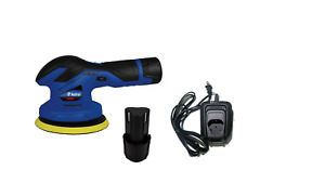 Astro Pneumatic 3026 12v Cordless Variable Speed Palm Polisher With 2 Batteries