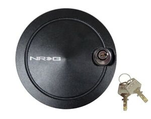 Nrg Steering Wheel Quick Release Hub Quick Lock With 2 Keys Black New Version