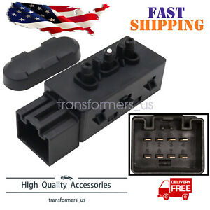Driver Left 6 Way Power Seat Switch 9l3z14a701a For Ford F150 250 Mustang Escape