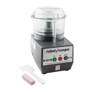 Robot Coupe R101 B Clr 2 1 2 Qt Commercial Food Processor